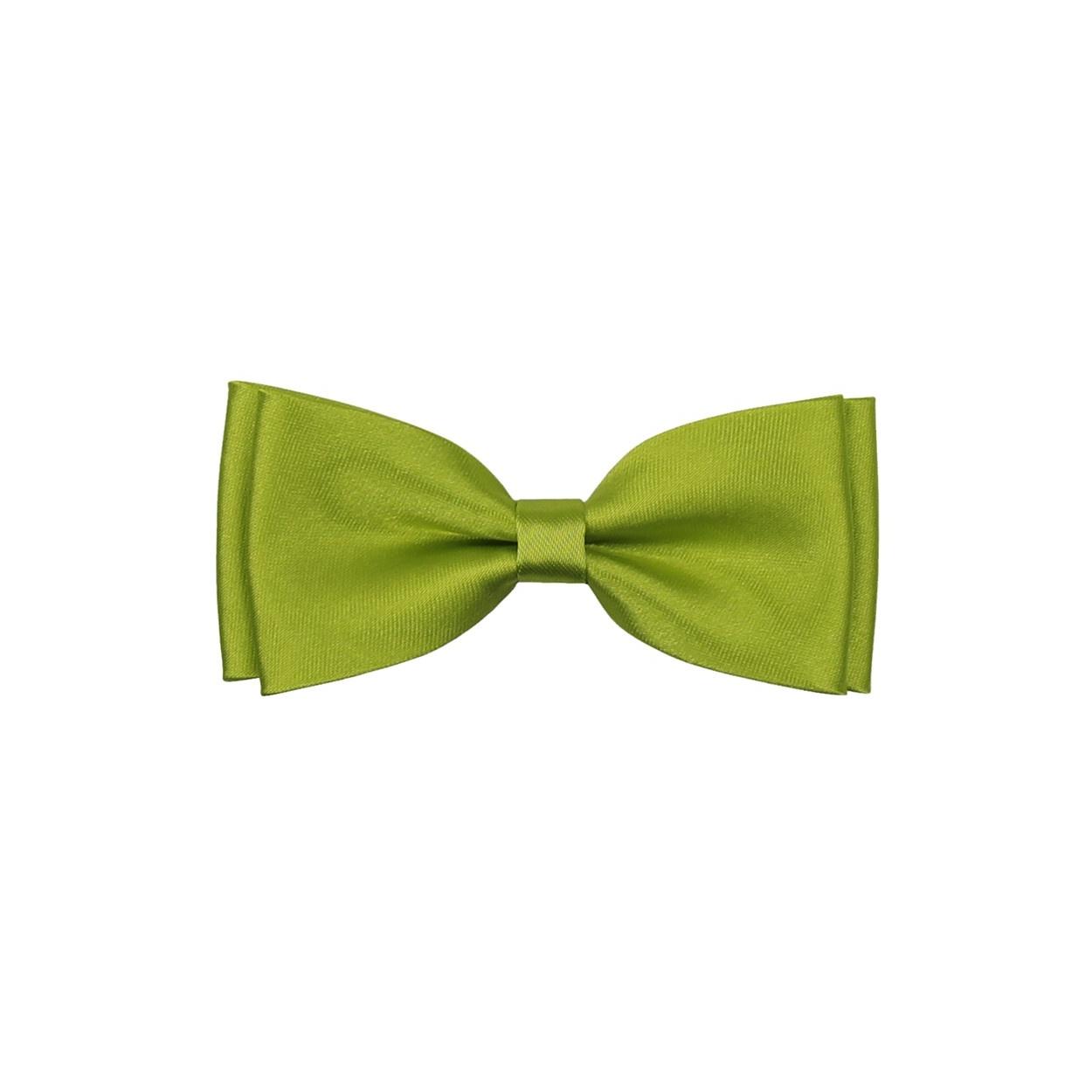 Jablíčkově zelený dětský motýlek lesklý