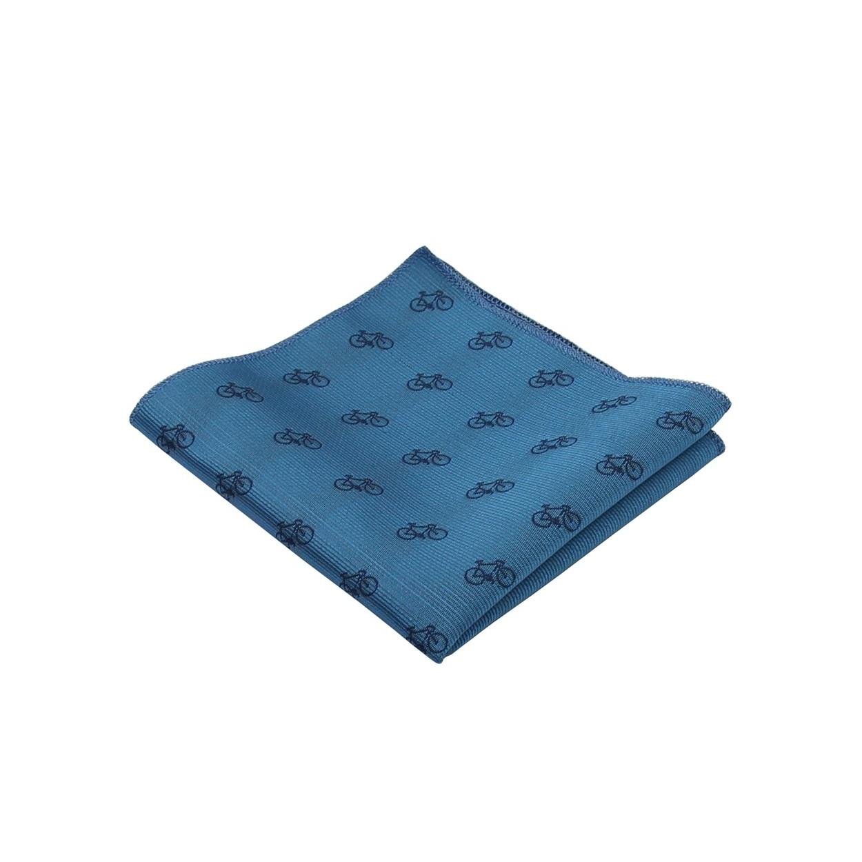 Modrý pánský kapesníček do saka KOLO