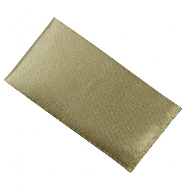 Zlatý pánský kapesníček do saka