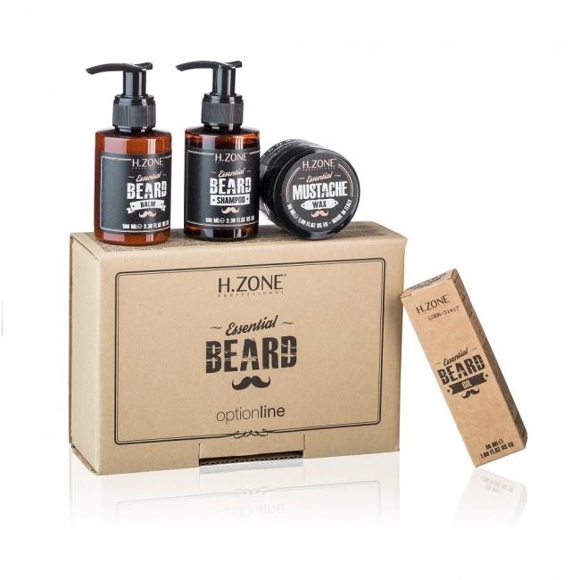 H.ZONE Essential komplet k péči o vousy