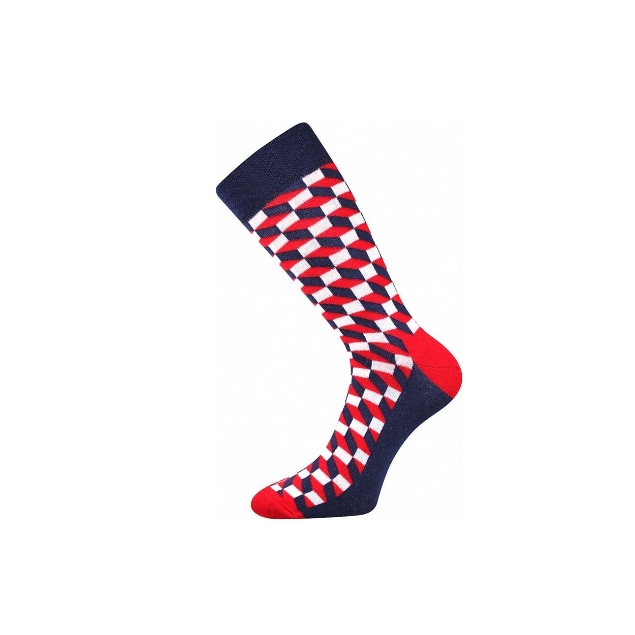 zoom in. Skladem. Tmavě modré pánské nízké ponožky ŽRALOK 283ae1a0af