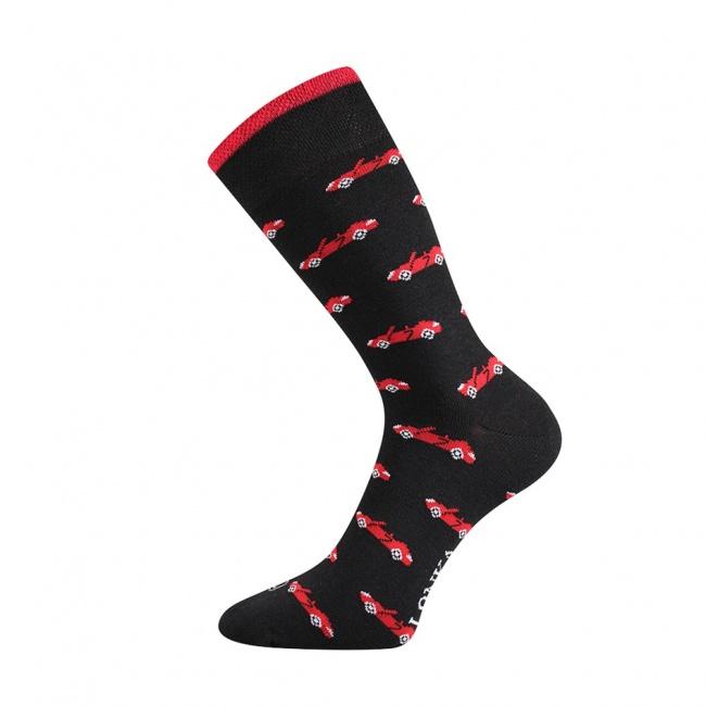 Černé pánské ponožky AUTA