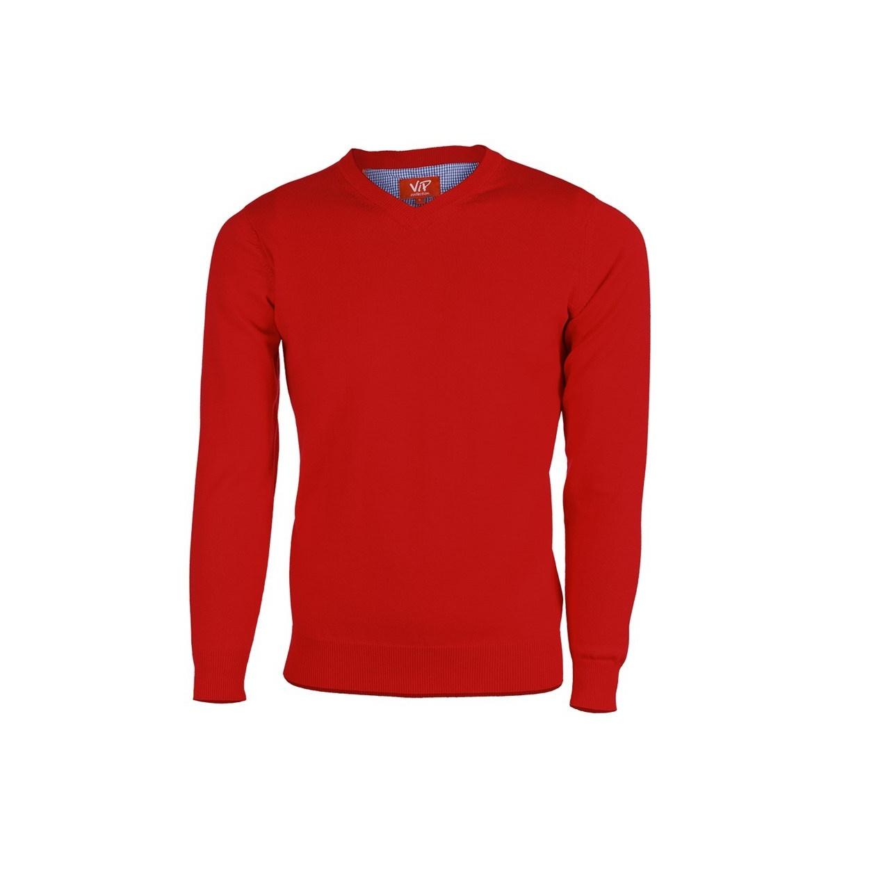 Pánský svetr červený