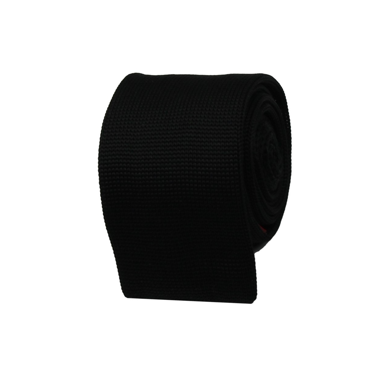 Černá pletená kravata