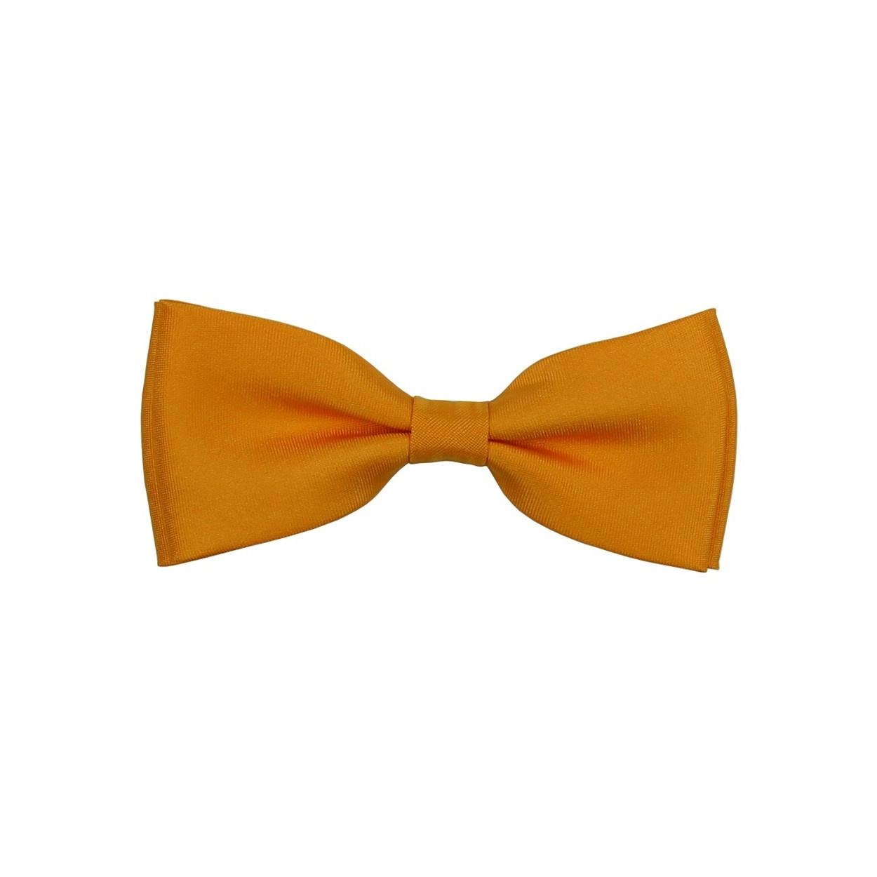 Žluto oranžový pánský motýlek