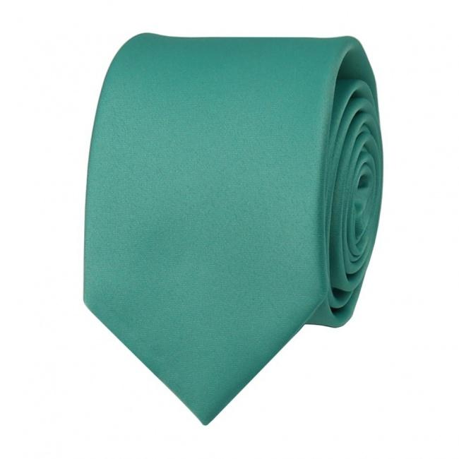 Tyrkysová pánská kravata