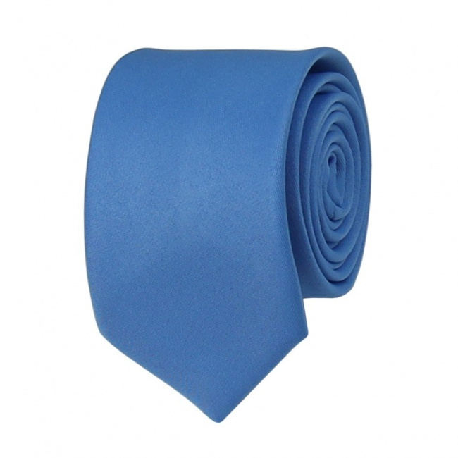 Světle modrá pánská kravata