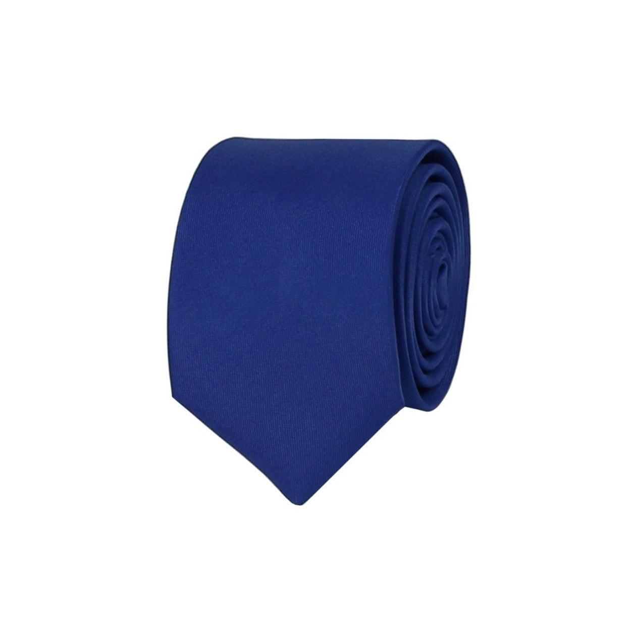 Modrá pánská kravata