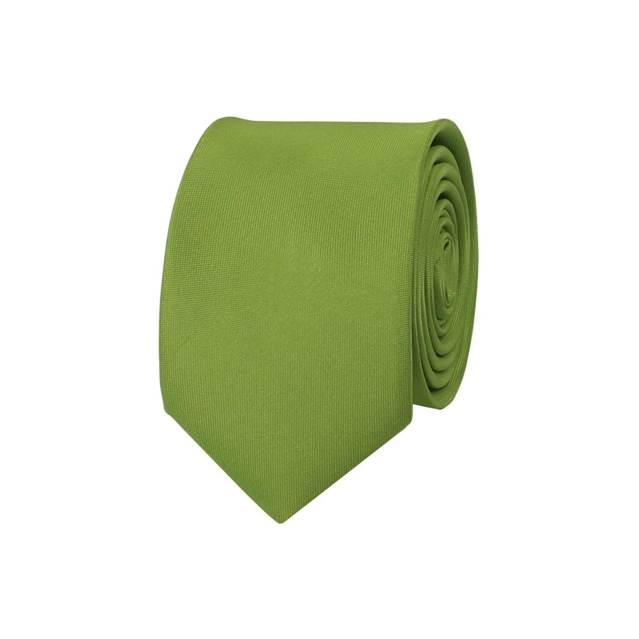 Limetkově zelená pánská kravata