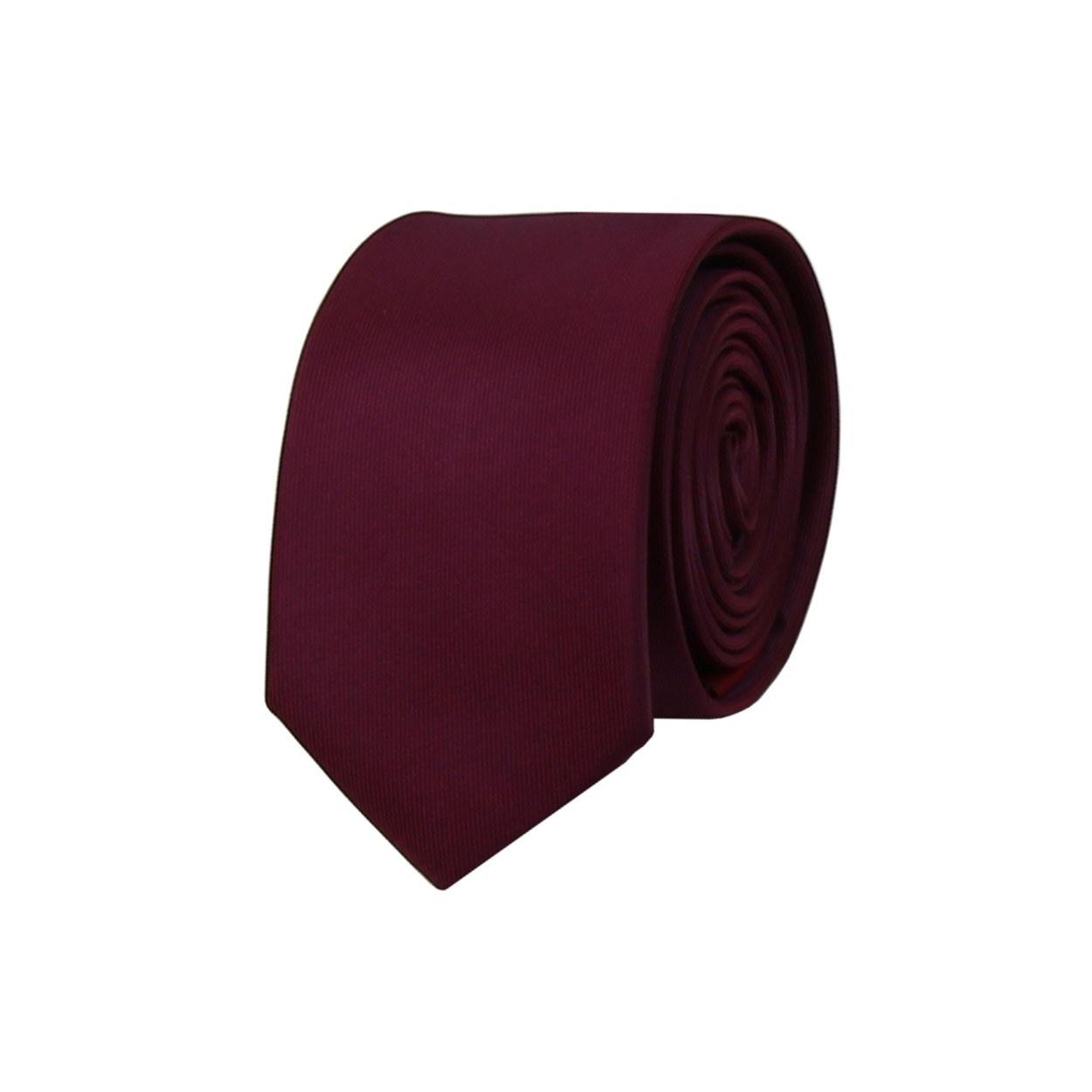 Tmavě fialová pánská kravata