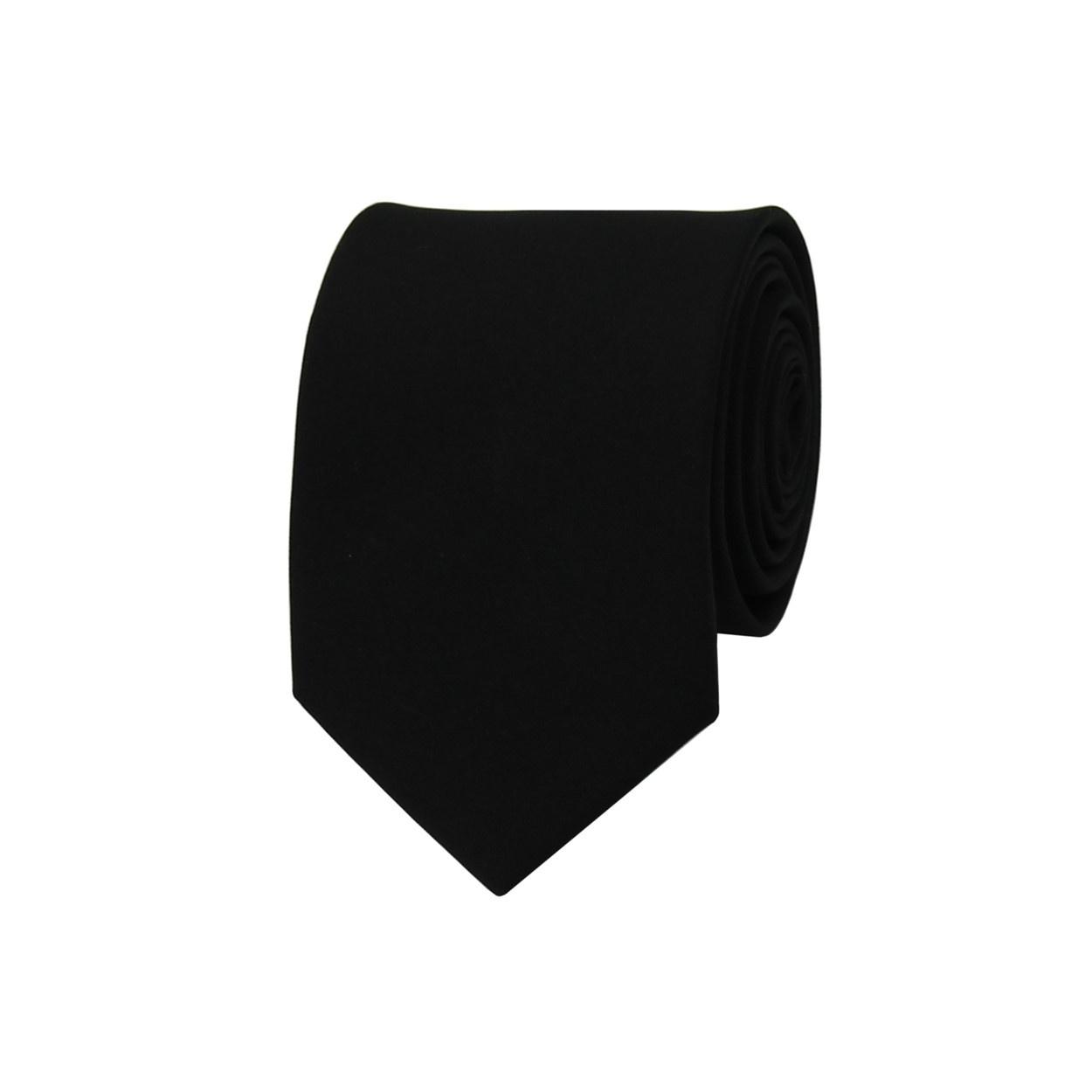 Černá pánská kravata