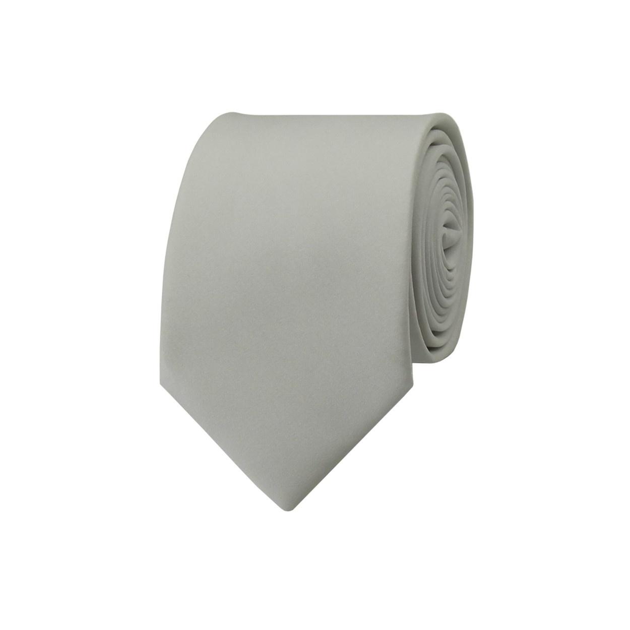Bílá pánská kravata