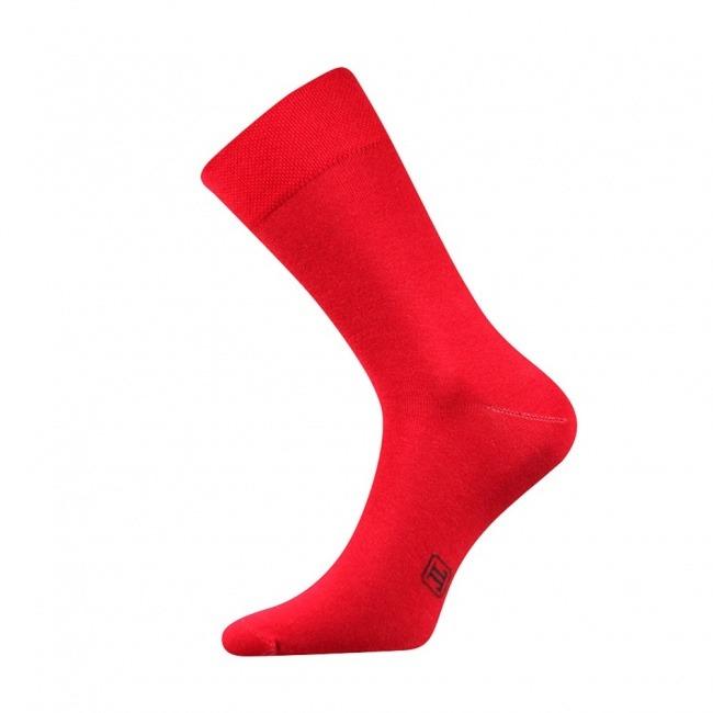 Červené pánské ponožky