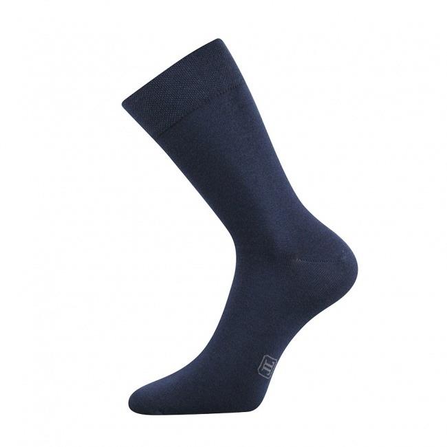 Tmavě modré pánské ponožky