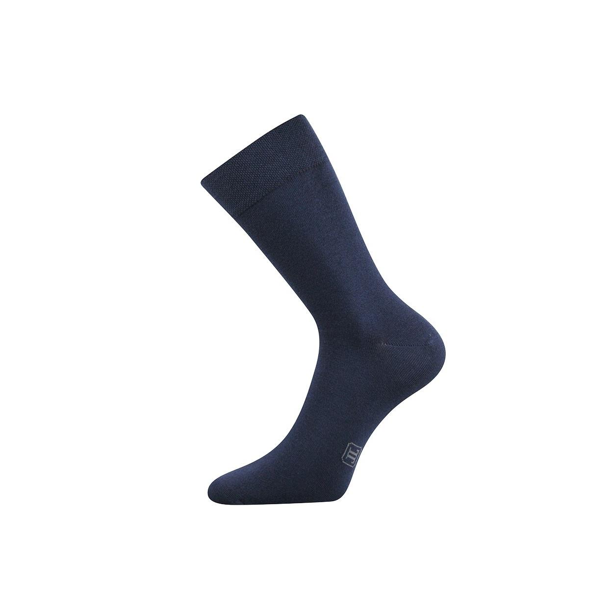 Tmavě modré pánské ponožky Decolor  0f036c9dce